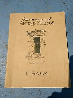 Antique Israel Sack Reproductions of Antique Fittings Hardware Catalogue Book
