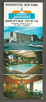 Howard Johnson's Motor Lodge & Rest. Manchester, New Hamp.