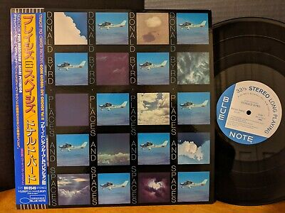 DONALD BYRD  PLACES AND SPACES Blue Note LP DJs Choice Rare Groove Collection NM