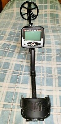 """Detech CHASER Metal Detector w/ 12"""" x 10"""" SEF Butterfly Search Coil + 9"""" Coil"""