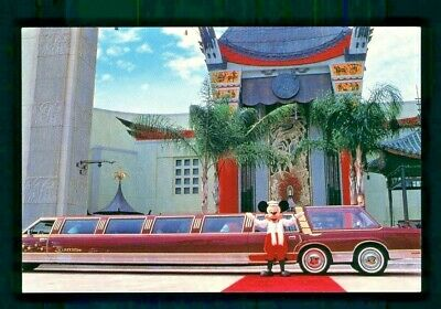 Postcard Disney MGM Studios Official LiMousine Gives Mickey a Ride. B2