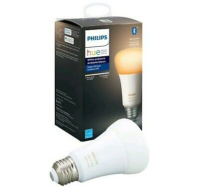 Philips Hue White Ambience A19 Light Bulb 2000 - 6500 K Warm to Cool • E26 (NEW)