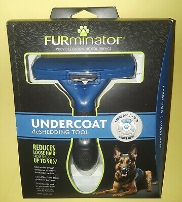 FURMINATOR UNDERCOAT deSHEDDING TOOL~for LARGE DOG> 50 lb~SHORT HAIR~BRAND NEW~