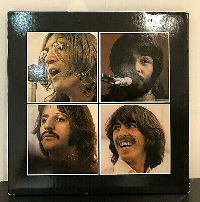 The Beatles/ Let It Be/ SOAL 6351/ 1970 Box Set with Get Back Book/ RARE!!! NM