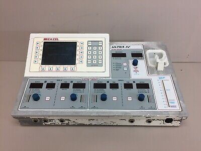 Excel Tech Model EX-UL4 XLTEK Ultra IV Ultrasound Therapy Console