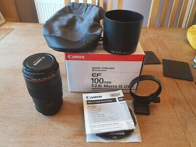 Canon EF 100mm F2.8l Macro Is USM Lens Grade in Perfect condition