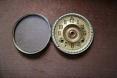 Clock Face and glass vintage
