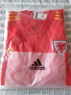Wales Football Home Shirt 2020/21 - Extra Large - BNWT