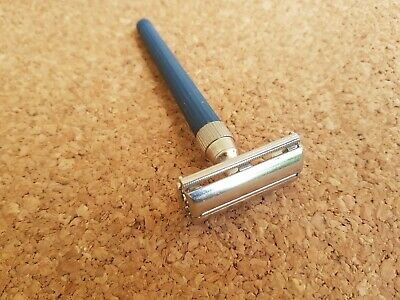 Vintage razor Gillette Slim Twist 1978 good condition butterfly razor