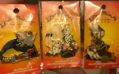 WDW - Spectacle of Pins 2004 - Set Of 3