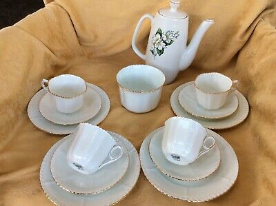 Vintage SylvaC with Phoenix China Shabby Chic Coffee / Tea Set Mixture