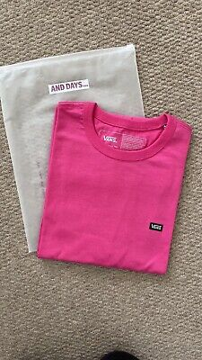 Vans Mens Off The Wall Classic Tee (Pink) in Size M