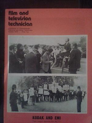 Film and Television Technician Magazine October 1973
