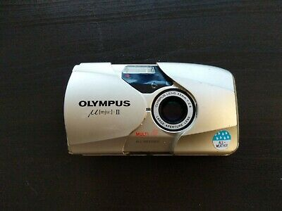 Olympus mju II Stylus Epic 35mm Compact Film Camera with 35 mm lens