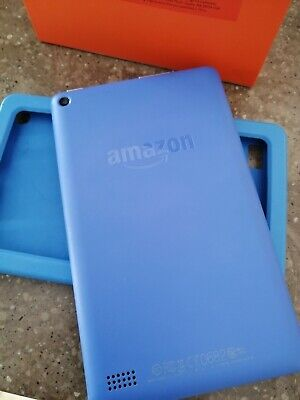 "Amazon Kindle Fire 7"" Inch 8GB 5th Generation Blue"