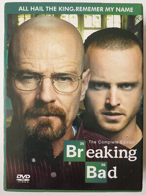 BREAKING BAD The Complet Edition L'intégrale de la série coffret de 26 DVD