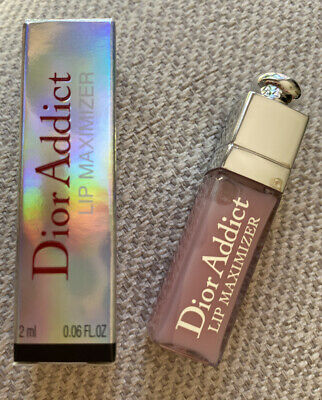 BNIB Mini Dior Addict Lip Maximiser 2ml 001 Pink