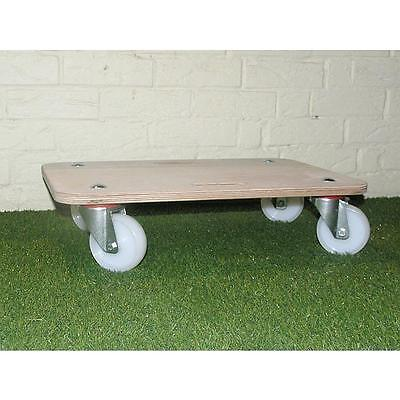 HEAVY DUTY 540kg BRAKED FURNITURE REMOVAL DOLLY Piano POOL TABLE MOVER Trolley
