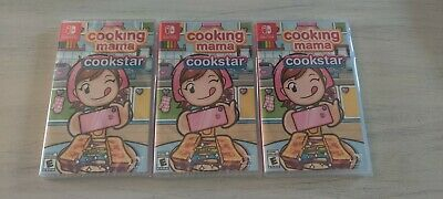 Cooking Mama Cookstar Nintendo Switch Brand New