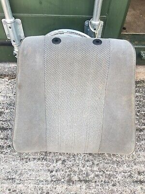 bmw e30 front seat back rest Upper 4 Door touring grey Cloth Silver 316i 318i