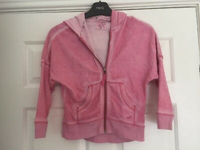 Girl's NEXT Hooded Top jumper size 6 yrs Nice clean cond