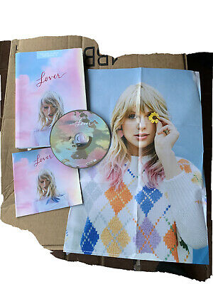 New: TAYLOR SWIFT - Lover, Deluxe Album Version 3 CD, Target Exclusive