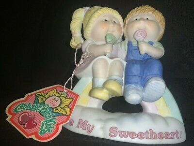 Cabbage Patch Kids Porcelain Figurine Be My Sweetheart 1985 by Xavier Robert