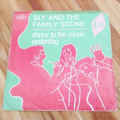 SLY AND THE FAMILY STONE [UNDERDOG] 1968 HEAVY FUNK SOUL FUZZ 45 Epic