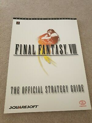 Playstation Final Fantasy VIII 8 Strategy Guide Book
