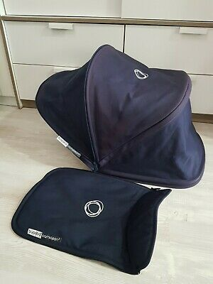 Bugaboo cameleon 3 classic navy hood and apron fabric Only! Extendable !