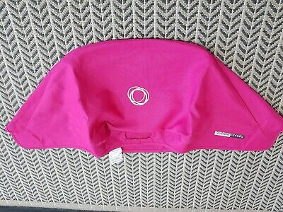Bugaboo donkey hot Pink hood fabric Only! Not extendable ! 02