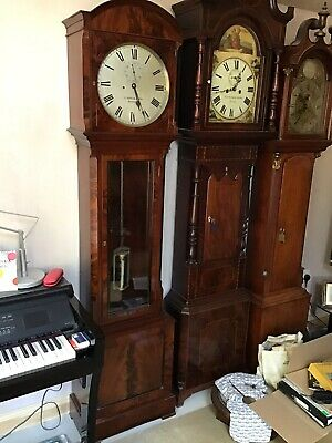Longcase Regulator Clock In A Stunning Mahogany Case Excellent Working Order