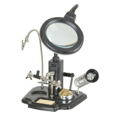 DuraTech DuraTech LED Magnifying Lamp and Soldering Station