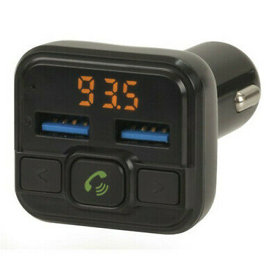 TechBrands Bluetooth H/Free USB LED FM Transmitter