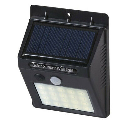 TechBrands Motion Sensor Solar Charging LED Light