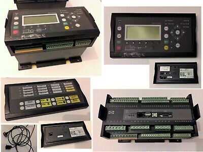 Deif AGC-4 Automatic Genset Controller 392-7830 with Display & Annunciator