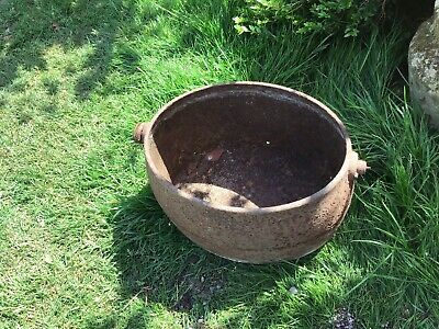4 Gallon Holcroft Cast Iron Boiler Crock-planter