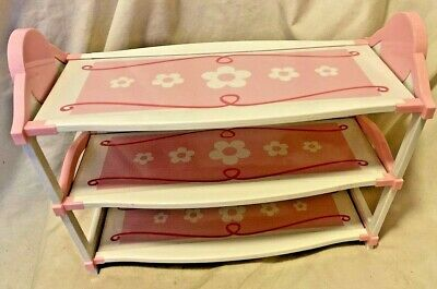 """Battat Our Generation 18"""" Doll CHANGING TABLE OR SHELVES American Girl  VGC"""