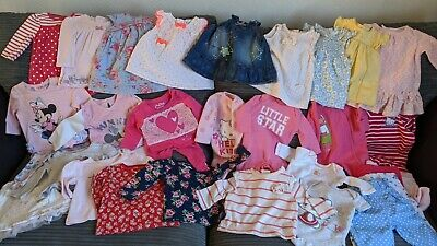 Joblot Baby Girls Clothes Bundle 0-3 Months