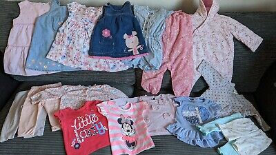 Job Lot 3/6 & 6-9 month  Baby Girl  Clothes