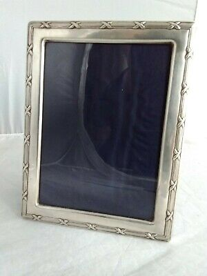 Large Solid Silver Photo Picture Frame - Sheffield 1988