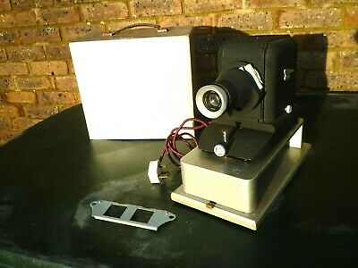 Vintage Gnome Slide Projector + Original Box