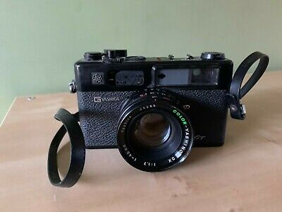 YASHICA ELECTRO 35 GS Rangefinder Camera 45mm F/1.7 Lens