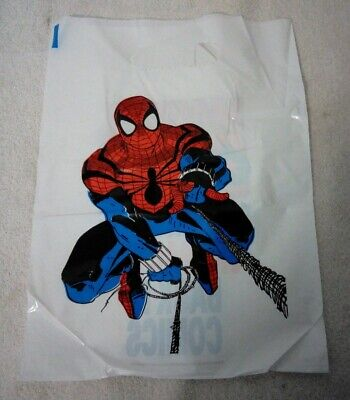 Box Of Vintage 90's Spider-Man Shopping Bags