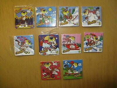 Walkers Cheetos Collectors Cards X 10 - Sealed In Original Packets