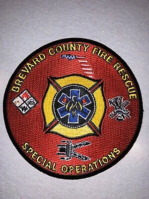 Brevard County Florida Fire Department Patch
