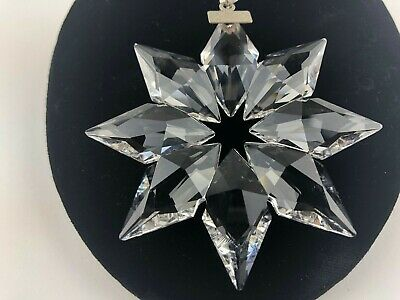 Swarovski Crystal - 2013 - Snowflake - Christmas Ornament - No Box
