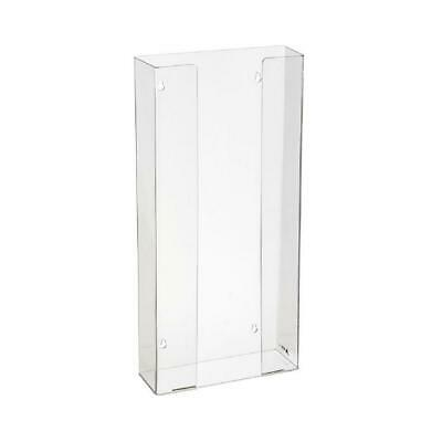 ADIRMed Clear Acrylic Wall Mountable Durable Quad Glove Box Dispenser Holder