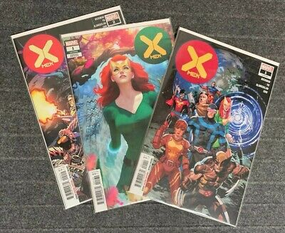 The X-MEN 2019 issues 1 2 LOT Variant DAWN OF X HICKMAN