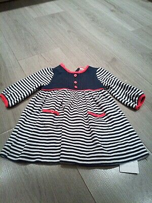 jasper conran junior girls dress age 3-6 months